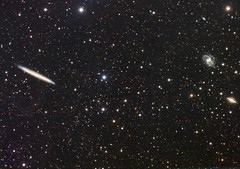 NGC 5907 (AllAboutRefractors) Tags: astrophotography astronomy galaxies refractor astrometrydotnet:status=solved tec180 astrometrydotnet:id=nova1559349