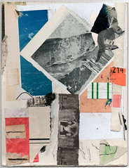 Lle noire (Armand Brac) Tags: abstract art collage paper paperart artwork handmade mixedmedia collageart cutpaste mixmedia cutandpaste armandbrac