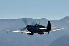 Spitfire (GJC1) Tags: spitfire wanaka warbird airdisplay supermarine mkix warbirdsoverwanaka gjc1 wanakaairport geoffcollins