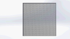 Graepels Moire effect Perforated Metal (graepels) Tags: metal moire effect perforated