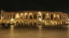 Verona by night (valeriaconti136) Tags: sunset architecture night verona arco notte architettura veneto allaperto anfiteatroromano arenadiverona veronabynight