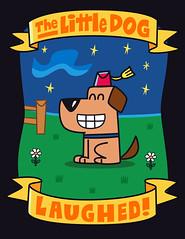 The Little Dog Laughed (Mighty Plush) Tags: kids illustration nursery adobeillustrator rhymes frederator fredbot joeyahlbum