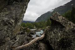 Vann og Rusk (Serious Andrew Wright) Tags: water norway river rocks debris driftwood jagged shards rauma andalsnes romsdalen trollveggen raumariver