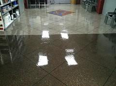 Epoxy Tile - Logo (Decorative Concrete Kingdom) Tags: tile logo flake epoxy chip
