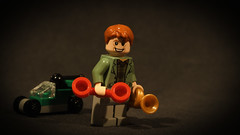 LEGO Arthur Weasley (Geertos13) Tags: car photography arthur duck phone lego artistic magic ministry harry potter trumpet objects rubber weasley muggle