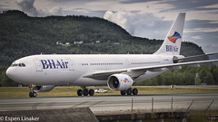 LZ-AWA Balkan Holidays Air (BH Air) Airbus A330-223 - cn 255 (Otertryne2010) Tags: norway holidays air airbus trondheim bh balkan trd taxiing a330223 vrnes enva