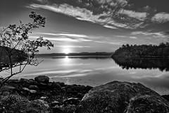 Frdesfjorden, Norway (Vest der ute) Tags: sunset seascape norway clouds reflections landscape mirror stones rogaland fav200 g7x ryksund
