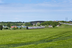 Snderborg (Nils Wieske) Tags: train zug brcke dnemark danmark ea tog dsb zge gumminase