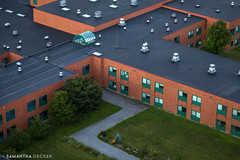 School's Out! (Samantha Decker) Tags: school ny newyork upstate saratogasprings aerial helicopter canonef24105mmf4lisusm canoneos6d samanthadecker