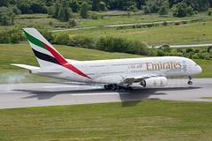 Emirates Airbus A380-800 A6-EEU (atcogl - ATC @ YYZ) Tags: toronto ontario canada plane airplane aircraft aviation uae super aeroplane landing emirates airbus a380 ek approach heavy flugzeug airliner avion pearson yyz widebody a380800 cyyz a388 largestaircraft a6eeu