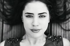 Lorraine (Darque.G Photography) Tags: nikon d600 darqueg photography face close up girl woman women eyes beautiful black white nb digital portrait portraiture amazing