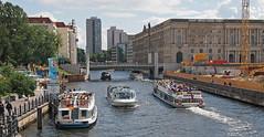 River in Berlin - #m43turkiye . com (Ciddi Biri) Tags: city berlin water river germany boat kitlens m43 mirrorless epl3 olympuspenepl3 1442rii m43turkiye