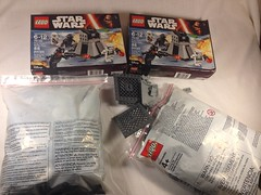Lego parts (Carson Tate) Tags: starwars order pieces force lego parts first 7 wip stormtrooper base episode moc awakens starkiller