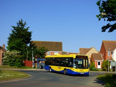 anglianbus 456 - AN61BUS (Zak (Norwich Bus Page)) Tags: 456 2016 anglianbus norwichbuspage an61bus scaniak230ubomnilink routeab61 yt61ffb