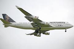 Ed Force One TF-AAK  Flight CC666 (richloydall) Tags: ed one iron force bruce maiden dickinson cc666