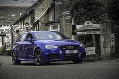 Audi RS3 (Alex Cadle Photography) Tags: auto blue car country automotive a3 audi rs rs3