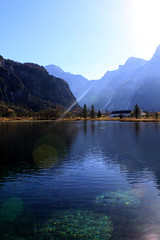 IMG_9836be (Katinka Irrlicht) Tags: water bergsee upper austria herbst autum fall
