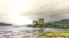 Eilean Donan Castle (npearson@soccer.on.ca) Tags: test lightroom castle scotland eilean donan storm skies