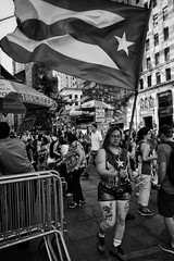 2016 Puerto Rican Day Parade NYC (ROY.NYC) Tags: blackwhite blackandwhite nycstreetphotography nyc newyorkcity puertoricandayparade bnw gothamist candid ricoh ricohgr ricohgr2 gr2