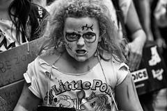 my little zombie pony (fat-freddies-cat 3 million views) Tags: street birmingham zombie zombiewalk