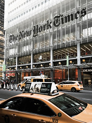 New York Times (Macro Focus) Tags: manhattan new york city times 8th avenue