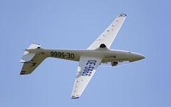 "Marganski MDM-1 ""Fox"" @ LOAU (stecker.rene) Tags: sky canon austria aircraft airshow fox spinning glider inverted tamron flugplatz hawks aerobatic aerodrome stockerau aerialdisplay mdm1 flyingdisplay loau eos7d marganski 150600mm spinninghawks oe5666"
