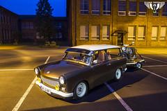 Trabant 601 mit Simson Schwalbe (Wutzman) Tags: light wallpaper nightshot nacht custom tuning trabant langzeitbelichtung nachtaufnahmen automotivephotography trabant601 wutzman lightscraper wutzmanfotografie