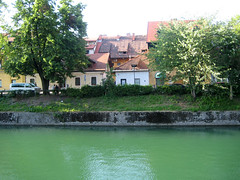 ljubljanaica (Wiebke) Tags: ljubljana slovenia europe vacationphotos travel travelphotos ljubljanica ljubljanicariver river