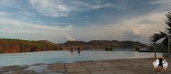 20160322-2ADU-010 Infinity pool mit Blick auf den Lake Argyle