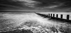 Aberdeen Beach (dawnlb83) Tags: aberdeen beach coast scottishcoastline scotland aberdeenshire longexposure daytimelongexposure groynes spring storm waves seascape
