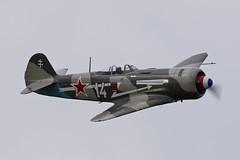 Let C-11 (Yak-11) - 5 (NickJ 1972) Tags: white les la aviation 14 des airshow temps let 2016 c11 yakovlev alais helices ferte yak11 faznn