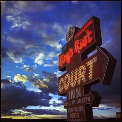 King's Rest (e l e c t r o l i t e) Tags: newmexico film neon hasselblad 60mm electrolite ektar100 shannonrichardson