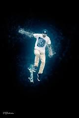 Skateboarder (salas-3) Tags: photoshop man jump art effect skateboarder skateboard