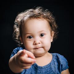 Eira (rifqi dahlgren) Tags: portrait cute girl toddler pointing unclesam strobist x100s tclx100