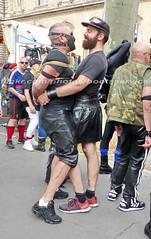 bootsservice 16 460915 (bootsservice) Tags: paris leather orlando uniform boots rubber des bottes motos uniforme motorcyclists cuir motards caoutchouc motorbiker pride gay marche fierts