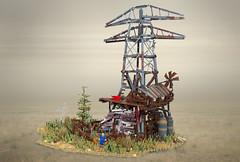 Fallout 4 - Abernathy Farm (Wookieewarrior) Tags: game lego farm 4 fallout moc abernathy