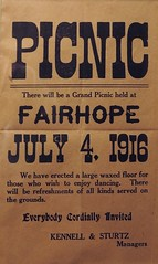 Grand Picnic, Fairhope, Pa., July 4, 1916 (Alan Mays) Tags: old floors vintage ads paper advertising typography holidays dancing pennsylvania antique 4th grand ephemera pa type fourthofjuly 1910s july4th 4thofjuly july4 fourth independenceday advertisements fonts flyers printed grounds invitations notices refreshments fliers picnics typefaces managers 1916 somersetcounty handbills fairhope leaflets circulars kennell sturtz broadsides waxedfloors johnsturtz grandpicnics kennellsturtz johnwsturtz july41916