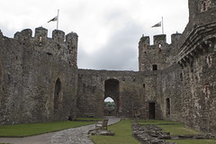 20160616-UK Trip-Conwy Castle-0039 (kuminiac) Tags: 2016 wales conwy castle conwy castle towers dungeons tower dungeon fortress town walls royal royals king edward i longshanks medieval snowdonia cymru knights scenery uk united kingdom