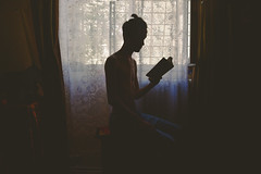 The reader from the cave (Costin Stanciu) Tags: street trip bridge cloud storm flower clouds nikon teen filed