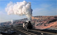 Steam Lives On (Welsh Gold) Tags: china train mine republic open peoples cast xinjiang coal province sandaoling js8167