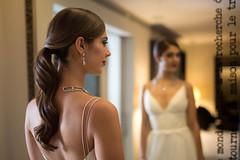 Stephanie (Stelex) Tags: wedding portrait woman reflection girl female mirror bride bridal