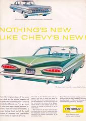 Chevrolet 1958 (moogirl2) Tags: chevrolet vintage retro 1958 50s 50sstyle vintageads theamericanhomemagazine 50samerica