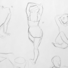 #77 of the 100 #gesturedrawings #challenge. . . . . . . . . . . . . #art #sketch #pencil #artstudent #exercise #humanfigure (shannonhakala) Tags: 77 100 gesturedrawings challenge art sketch pencil artstudent exercise humanfigure