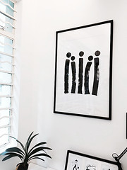 IMG_0019 (studioadjective) Tags: white black painting hongkong emily community acrylic   studioadjective