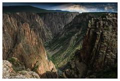 Black Canyon of Gunission_NP_scale (chagingmind) Tags: gunnisonnp blackcanyon trump hillary taylorswift kanyewest monrose colorado nationalpark centennial canon 7d canon1740