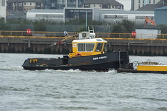 SWS Essex (kenjonbro) Tags: uk london yellow greenwich stan tugboat tug riverthames damen walsh 1205 2012 se10 pushtug kenjonbro swalsh swsessex royalgreenwichborough