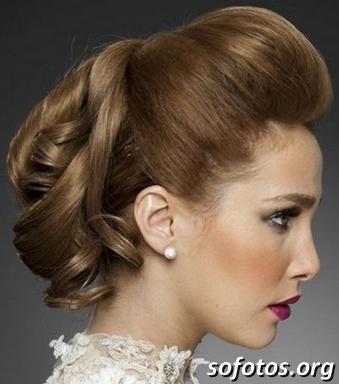 Penteados para noiva 100