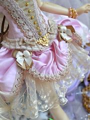 Pink Marquise (~ Eglantine ~) Tags: virginia outfit doll dress handmade corset bjd fairyland msd mnf minifee rheia mysticdolls marquisepink
