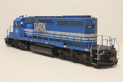 ELS 500 RL (Set and Centered) Tags: railroad lake chicago scale electric train model power diesel superior and locomotive motive ho 500 custom corp 187 els services 182 railroading emd sd402 escanaba gatx 7349 cmps athearn exgatx exgscx neemilw