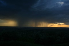 Rain & Sunset (Ct) Tags: sunset sky rain clouds rural nori apus bucium ruralside ploaie iai romniarural